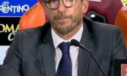 """Serie A, Roma-Bologna, Di Francesco: """"Non sono contento, ma 3 punti fondamentali"""""""