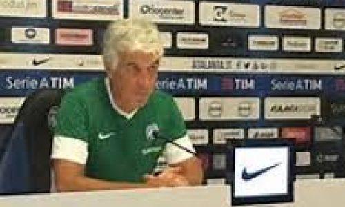 """Atalanta, Gasperini: """"Real un evento, affrontiamo la più blasonata e titolata con entusiasmo"""""""