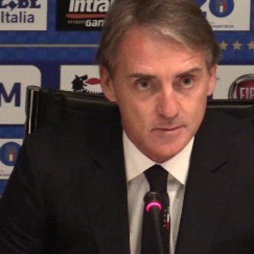 """Italia, Mancini: """"Ci sono giovani bravi, all'Ajax non vincono subito, gli danno fiducia e poi diventano forti"""""""
