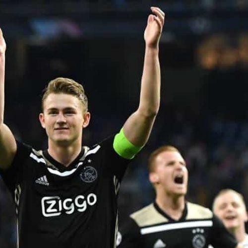 """Ajax, de Ligt: """"Futuro? Devo valutare diverse opzioni, ma…"""""""