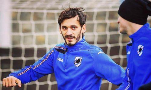 """Sampdoria, Gabbiadini: """"Derby uno spettacolo, triste a porte chiuse. Pensiamo a noi stessi"""""""