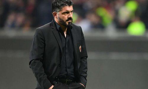 """Serie A, Milan-Lazio 1-0, Gattuso: """"Oggi la squadra ha fatto il suo dovere"""""""