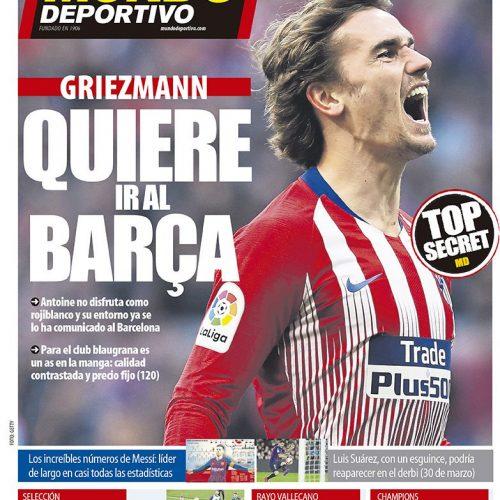 Barcellona ecco Griezmann ma l'Atletico non si accontenta