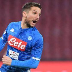 "Napoli AZ Mertens: ""Prendiamo esempio dall'Inter"""