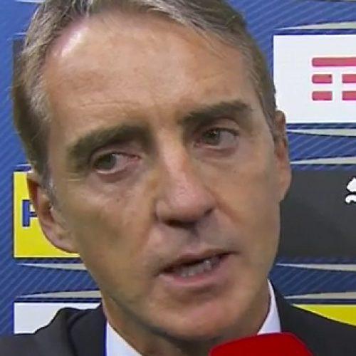 """Italia-Bosnia, Mancini: """"Contento, mi aspettavo meno con questa condizione"""""""