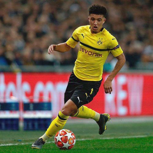 Borussia Dortmund: pronto un maxi rinnovo per Jadon Sancho