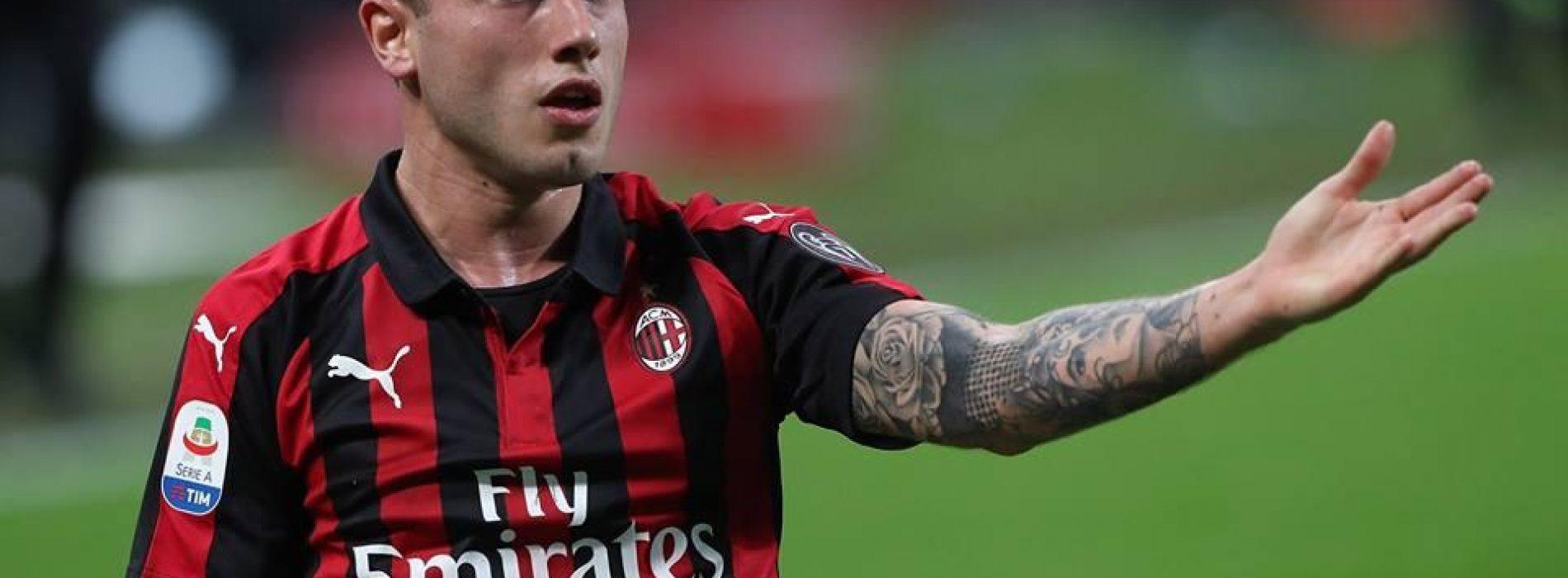 """Milan Calabria: """"Cutrone sta bene. Mi alleno a casa"""""""
