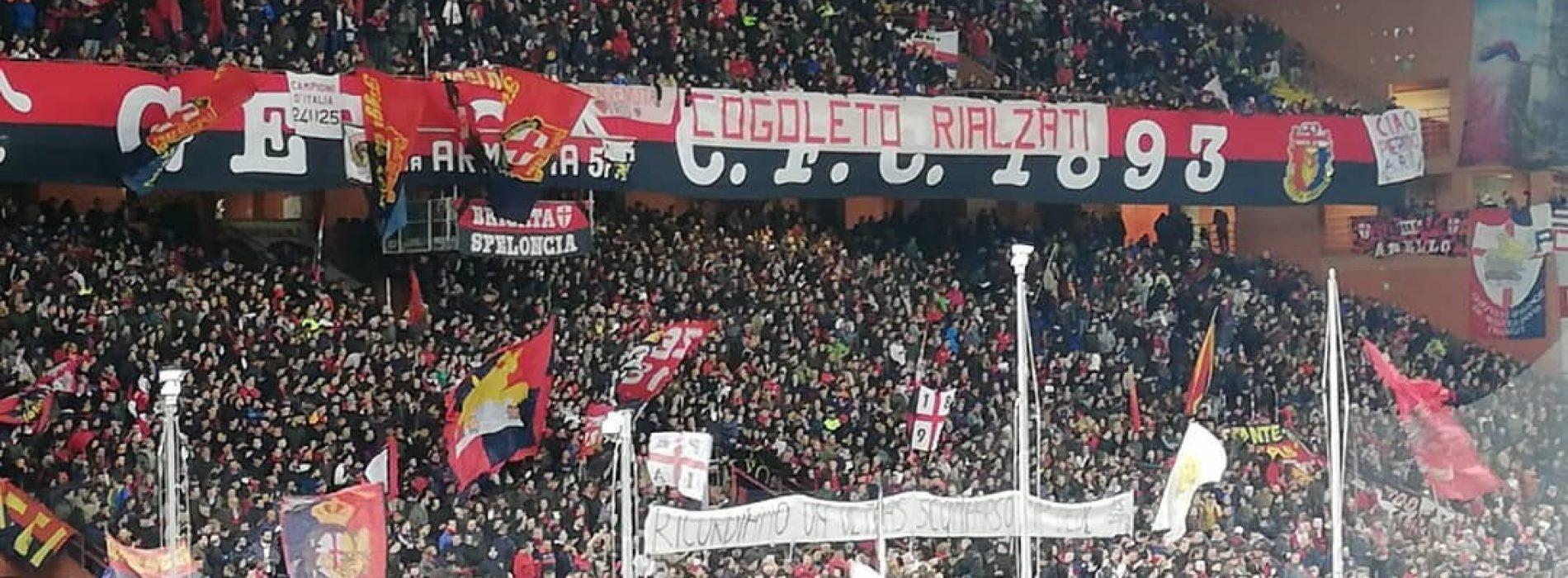 Genoa, i tifosi torneranno allo stadio contro il Cagliari