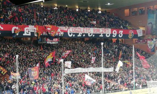 Genoa, l'appello della Gradinata Nord per il derby