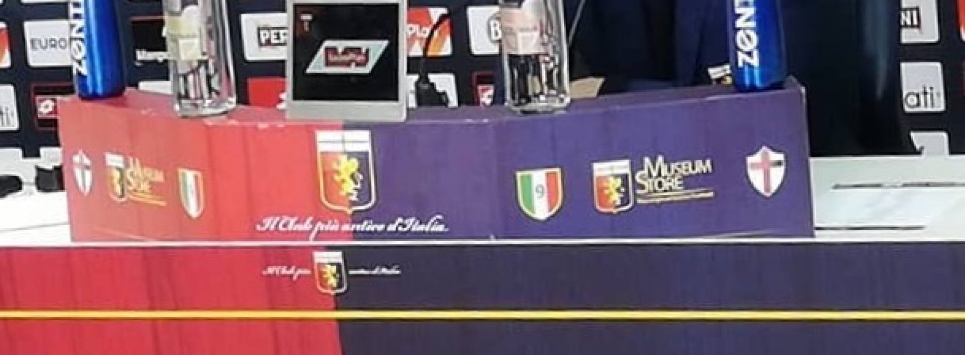 Stadio EC, Sampdoria Genoa: 2-0, Grifone deludente