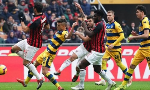 Frenata dei rossoneri, è 1-1 al Tardini tra Parma e Milan