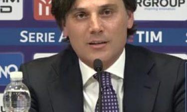 "Fiorentina, Montella:""Troppa paura"""