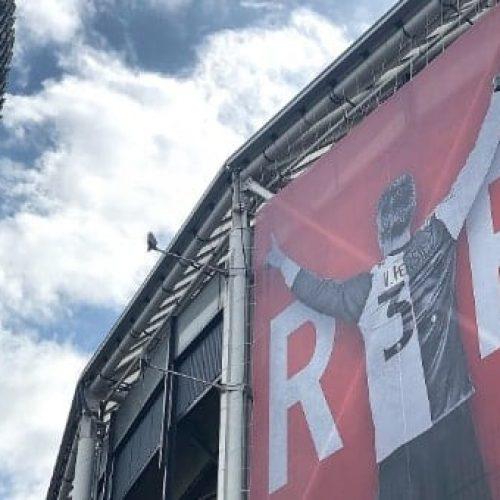 Domenica sarà l'ultima partita da calciatore di Robin Van Persie