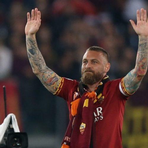 Cala il sipario, De Rossi saluta Roma