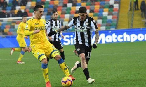 Serie A, l'Udinese in marcia verso la salvezza. Battuto il Frosinone per 3-1