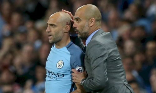 "Zabaleta: ""Guardiola via dal City? Dipende da lui.."""