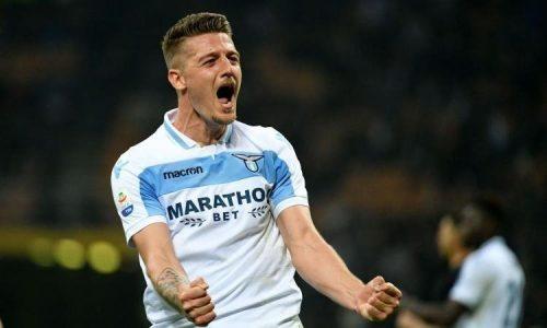 Mercato Lazio, il Manchester vuole Milinkovic per il dopo Pogba
