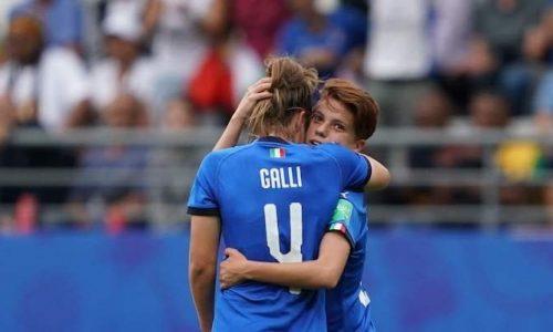 Italia – Cina Calcio Femminile, le azzurre volano ai quarti.