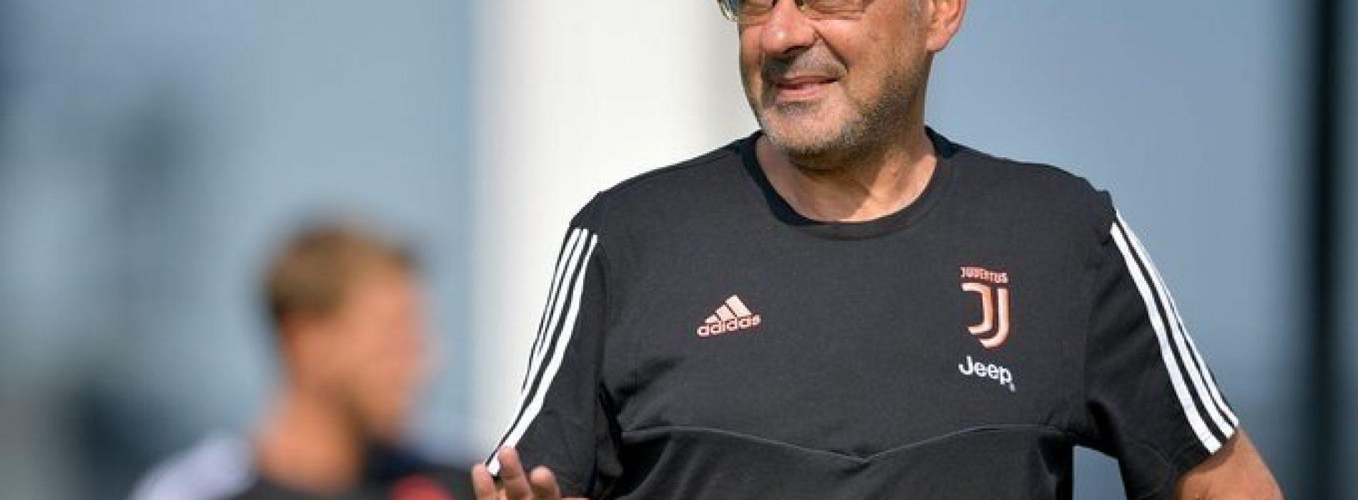 """Juventus, Sarri: """"Pogba mi piace tanto, ma è del Manchester United"""""""