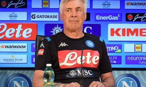 Carlo Ancelotti Napoli Liverpool 2-0. Conferenza stampa