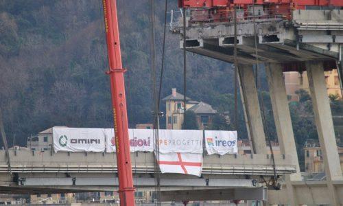 Genova Ponte Morandi, le toccanti prefazioni di Criscito e Quagliarella
