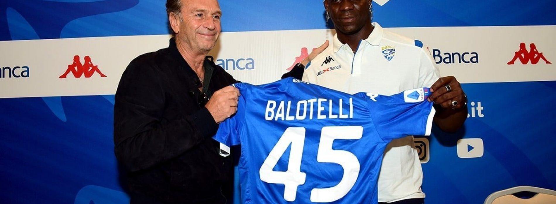 Brescia – Balotelli è pronto: dalla Juve parte il suo rilancio