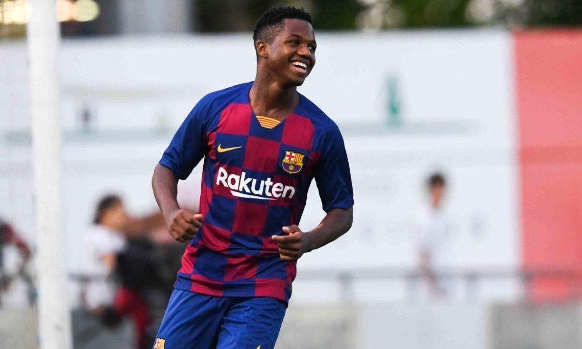 Ansu Fati, il Barcellona ha una nuova stella