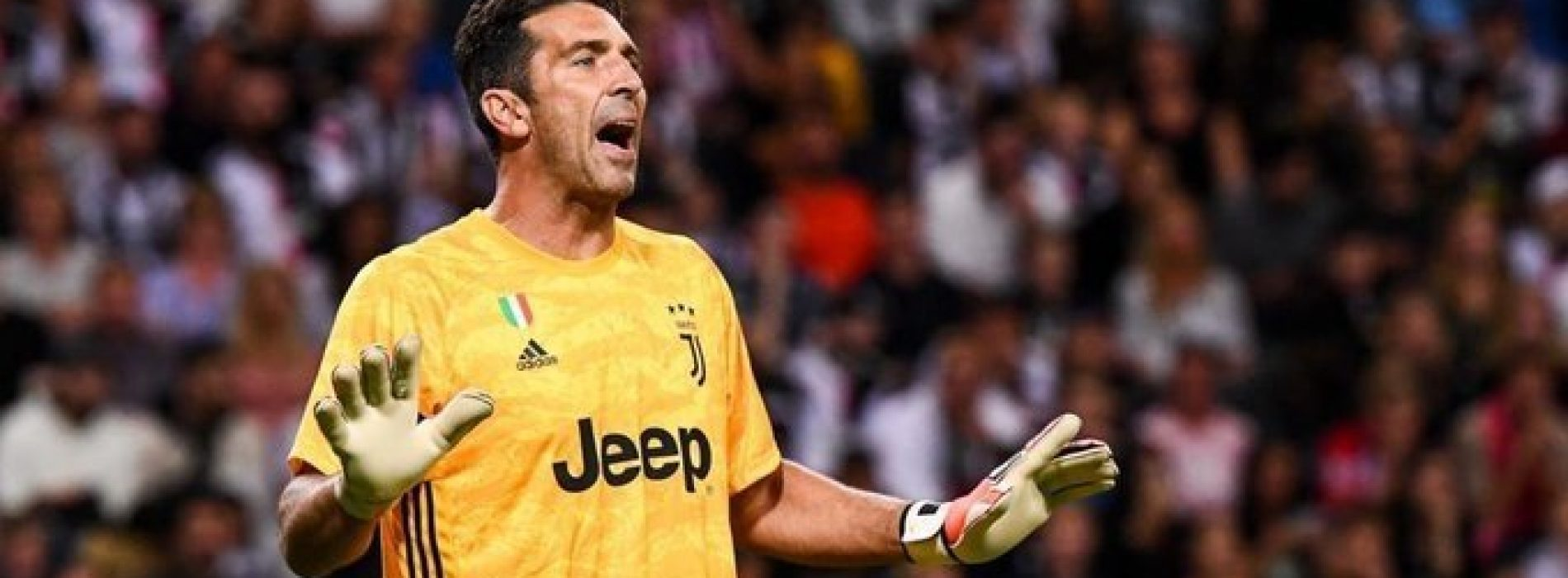 """Juventus Buffon sul ritiro: """"Non smetto per rispetto del Gigi bambino"""""""