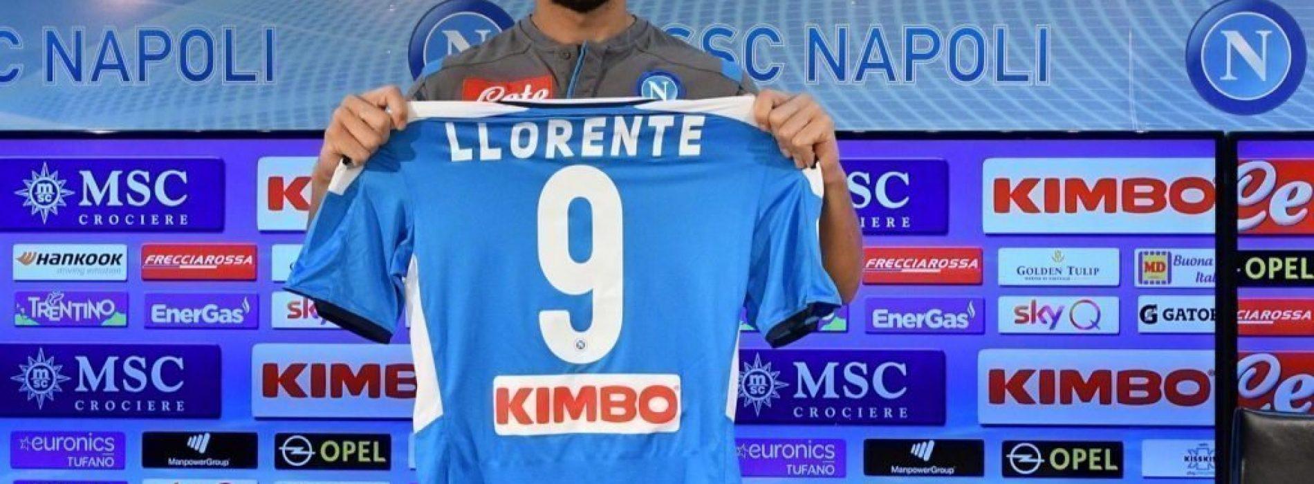 Fernando Llorente, la presentazione ufficiale