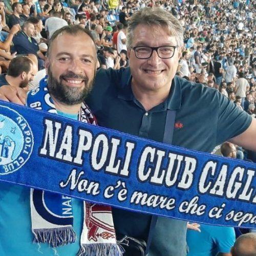 """Esclusiva EC, Club Napoli Cagliari """" Non c'è mare che ci separi """""""