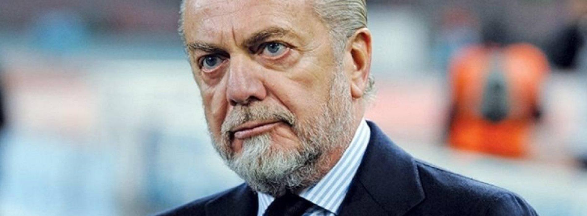 """Serie A De Laurentiis: """"Il calcio italiano va rivisitato con regole diverse"""""""