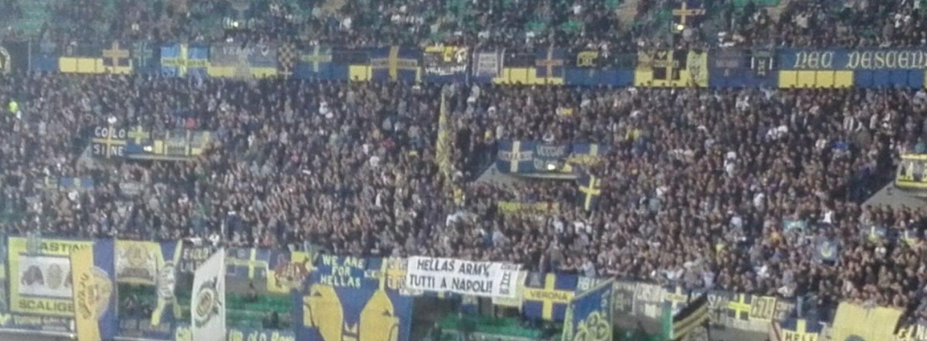 Verona a Napoli, tifosi Hellas Army pronti alla trasferta [FOTO]