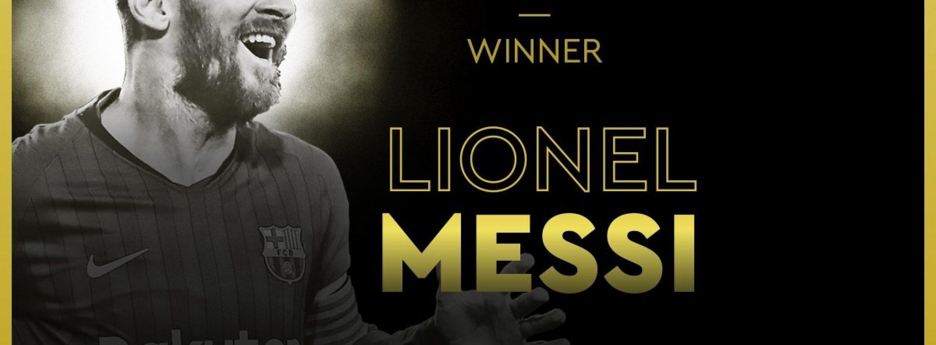 Messi Pallone d'Oro, sesto in carriera per l'argentino