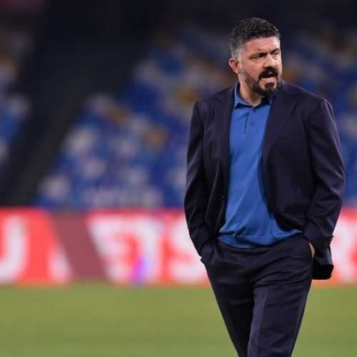 """Brescia Napoli Gattuso: """"Testa alla partita di domani. Con Allan tutto risolto"""""""