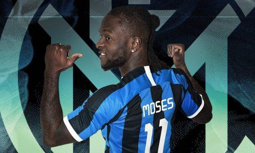 Inter UFFICIALE Moses. Lazaro saluta e va al Newcastle