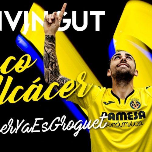 Paco Alcacer ufficiale Villarreal. L'attaccante lascia il Borussia Dortmund