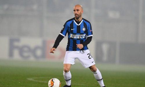 """Inter Borja Valero: """"Si sentirà l'assenza del pubblico"""""""