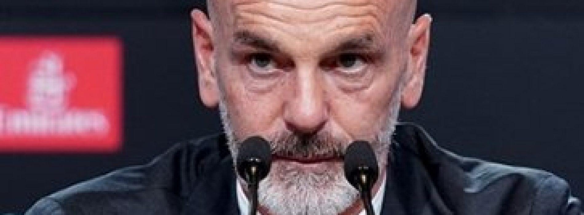 """Milan, Pioli: """"Mancato il quotidiano, contento di tornare. Grazie a…"""""""