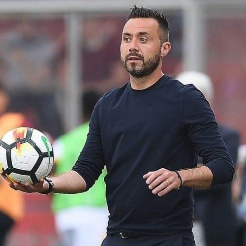 """Sassuolo De Zerbi: """"Vogliamo giocare in Europa. Alziamo l'asticella"""""""