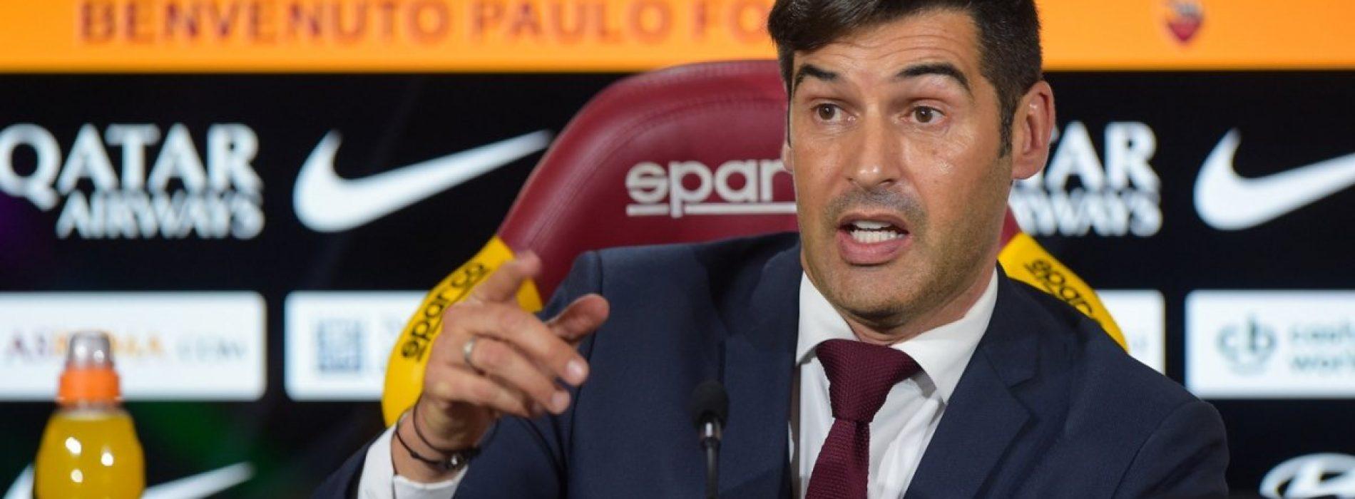 """Roma, Fonseca: """"I ragazzi hanno capito, vincere e giocare bene contro il Cagliari"""""""