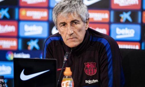 """Barcellona Setien: """"Vidal vuole restare, su Lautaro e Neymar…"""""""