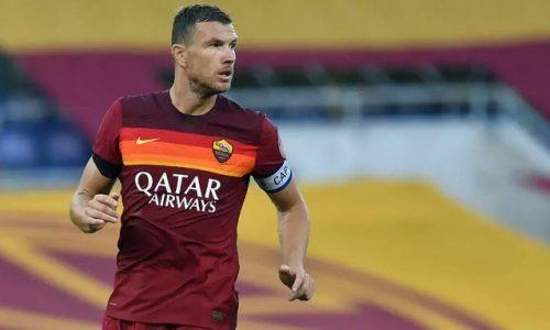 Roma Dzeko negativo al tampone. Smalling torna ad allenarsi con il gruppo