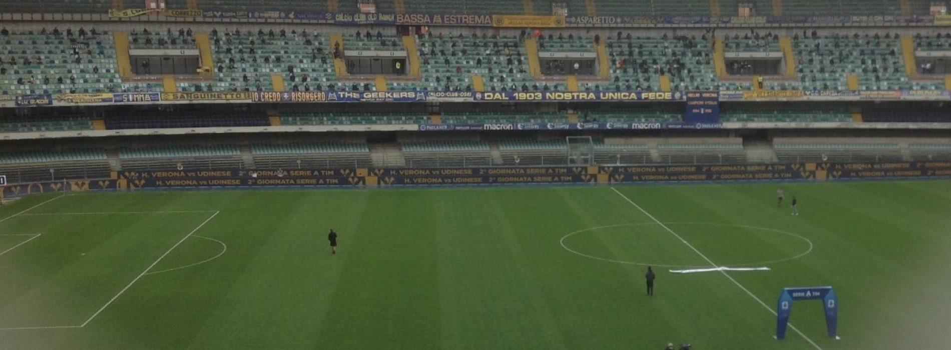 Verona- Udinese, 2a giornata di Serie A [LIVE]