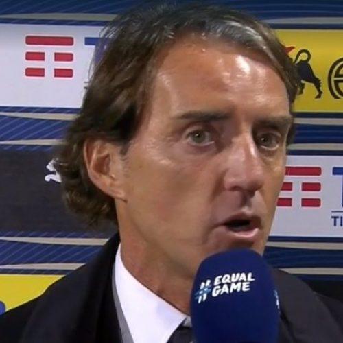 Italia conferenza Mancini: Il ct vuole recuperare Zaniolo, Chiellini e Sensi