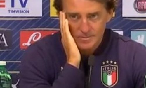 """Italia parole Mancini: """"Ringrazio i ragazzi. Abbiamo tanti giovani bravi"""""""