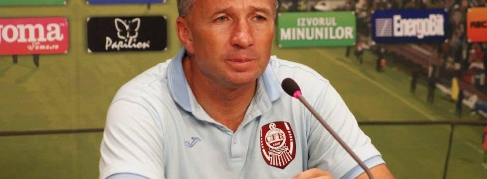 """Debacle Cluj all'Olimpico. Petrescu: """"Senza uomini dura fare di più"""""""