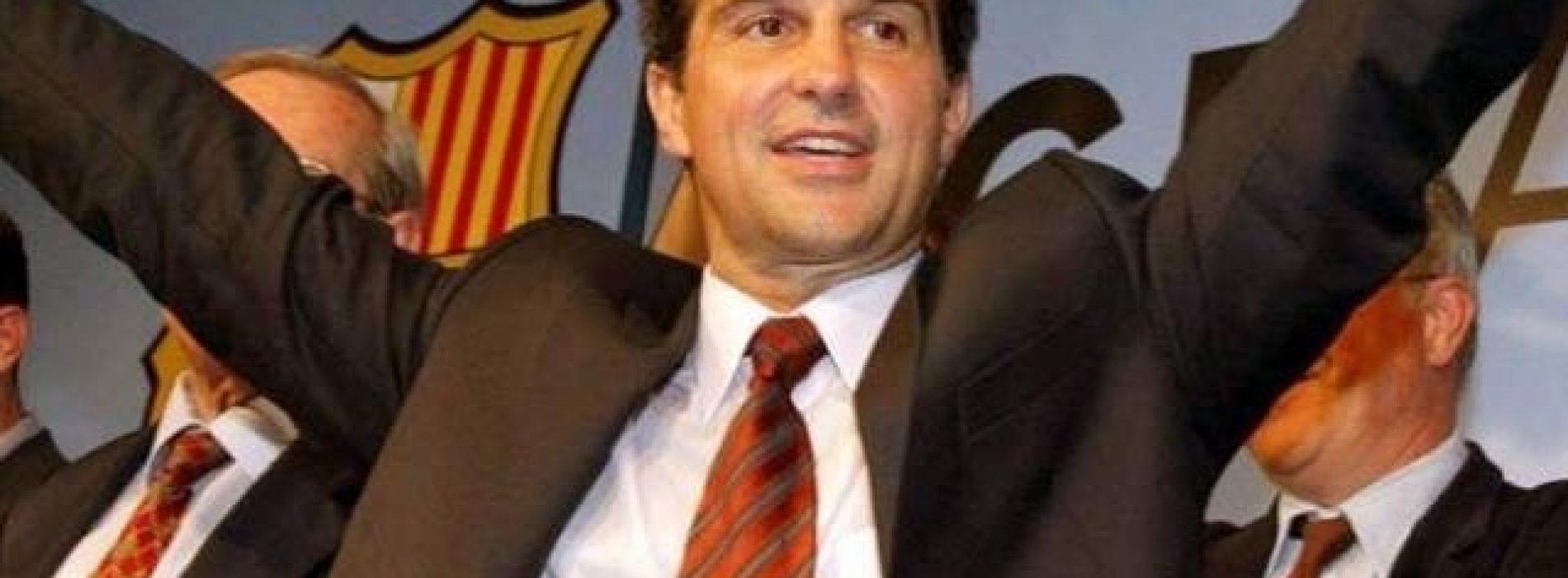 """Barcellona Laporta si candida alla presidenza: """"Vogliamo riportare felicità."""""""