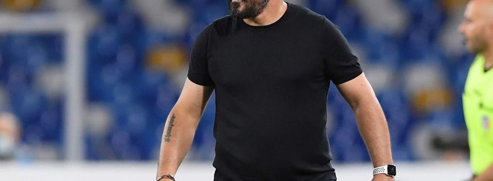 """Gattuso dopo Napoli Empoli: """"Si deve migliorare. Osimhen? Sta meglio"""""""