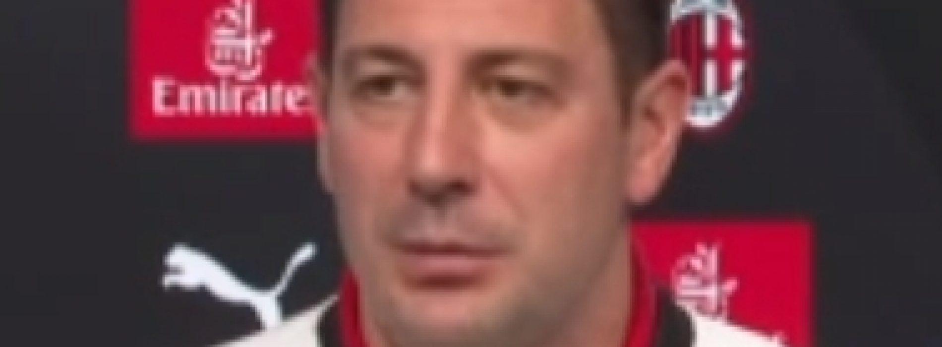 """Milan Bonera: """"Restare concentrati per rimanere in alto"""""""