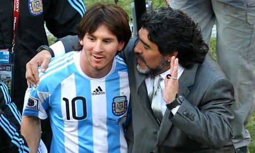 """Messi Maradona: """"Diego è eterno, ci lascia ma non se ne va"""""""